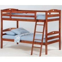 Cherry Twin-Twin Sesame Bunk Bed