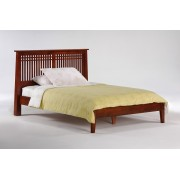 Cherry Solstice Platform Bed